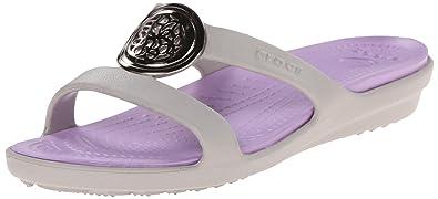 d995828169a2 crocs Women s Sanrah Circle W Flip Flop