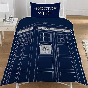 Doctor Who Tardis Bettwäsche Allover Amazonde Küche Haushalt