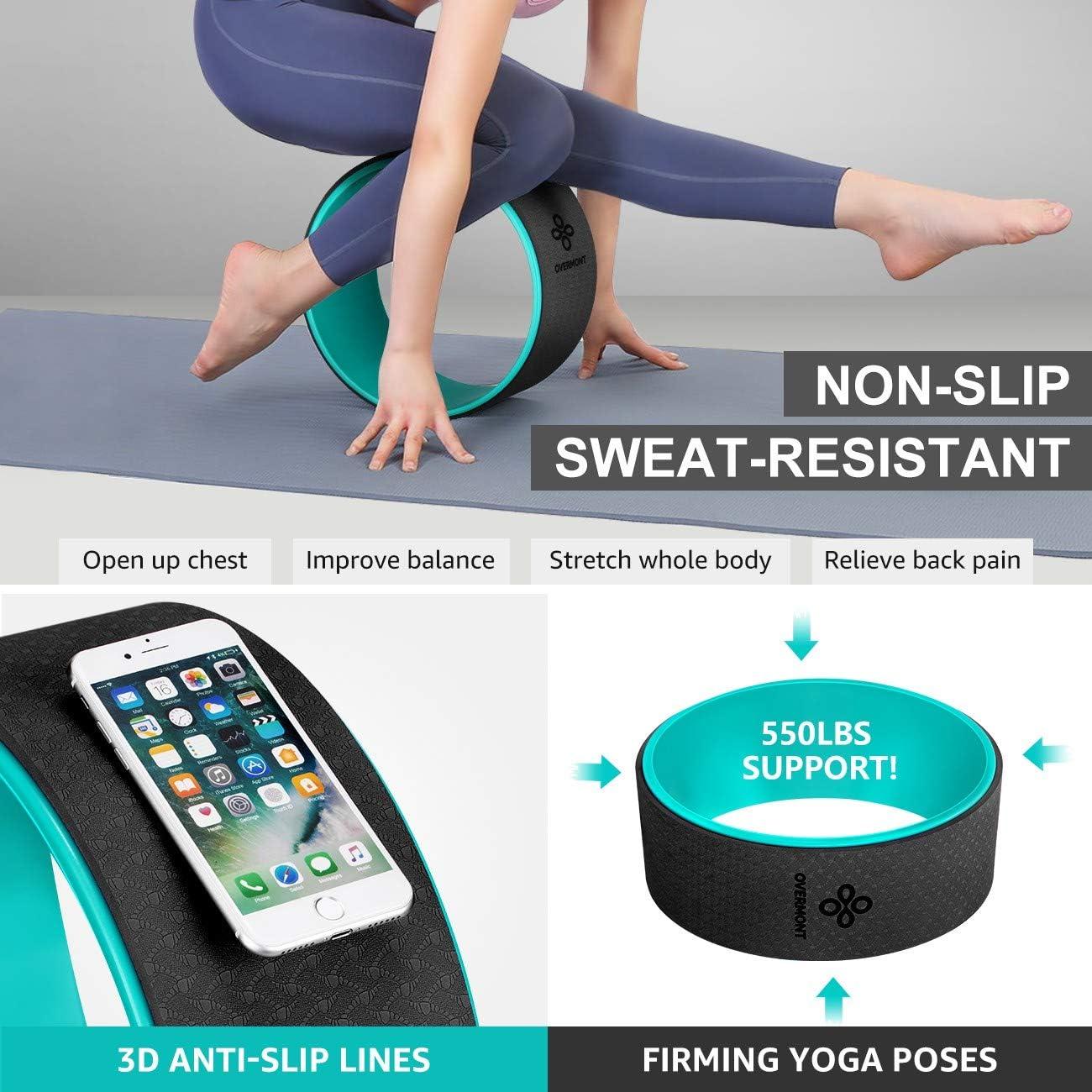 yoga rueda