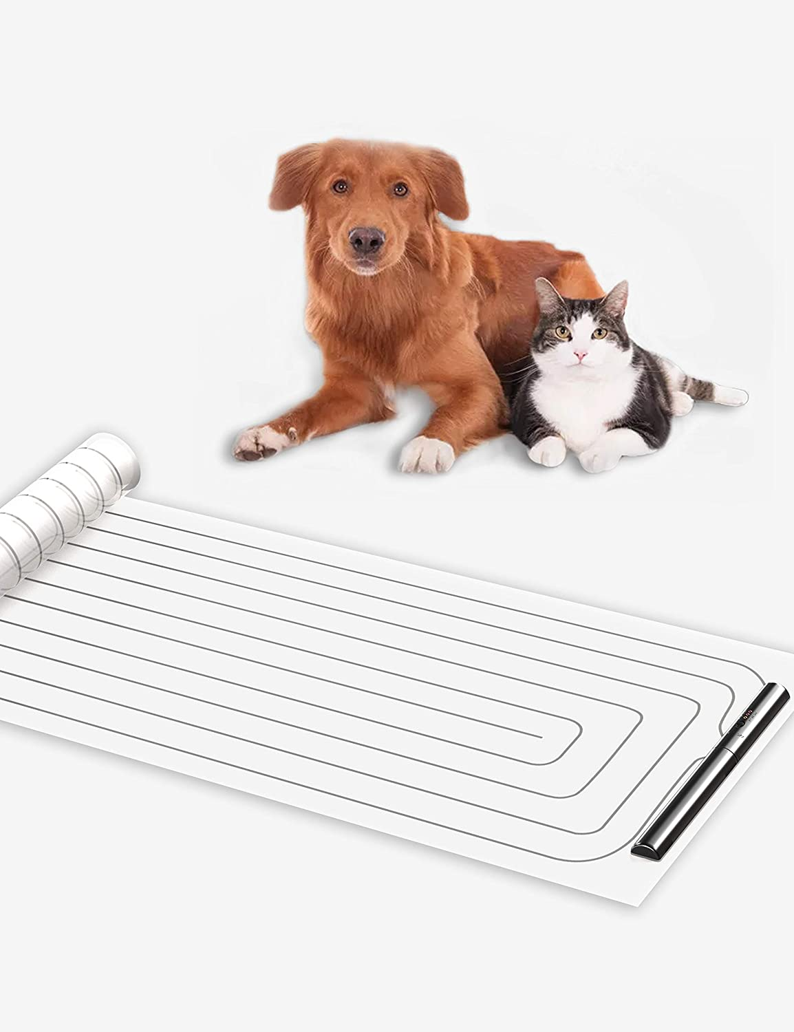 Cobito Scat Shock Mat for Dogs and Cats, Pet Electronic Training Pad, Couch Size, Keep Pets Off Furniture, Indoor Use for Sofa, Couch, Doorways