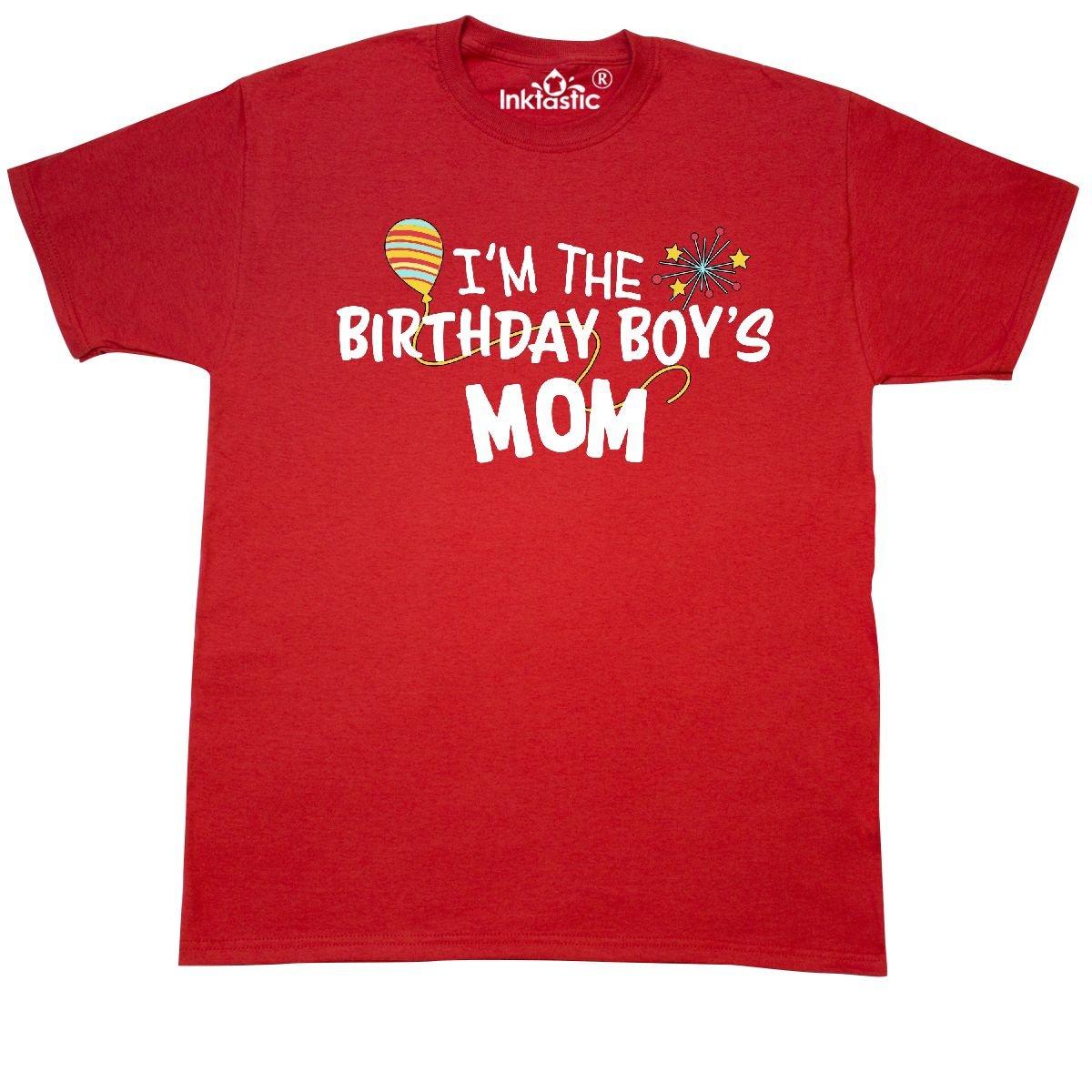 06298e2d Amazon.com: Inktastic - I'm the Birthday Boy's Mom T-Shirt: Clothing
