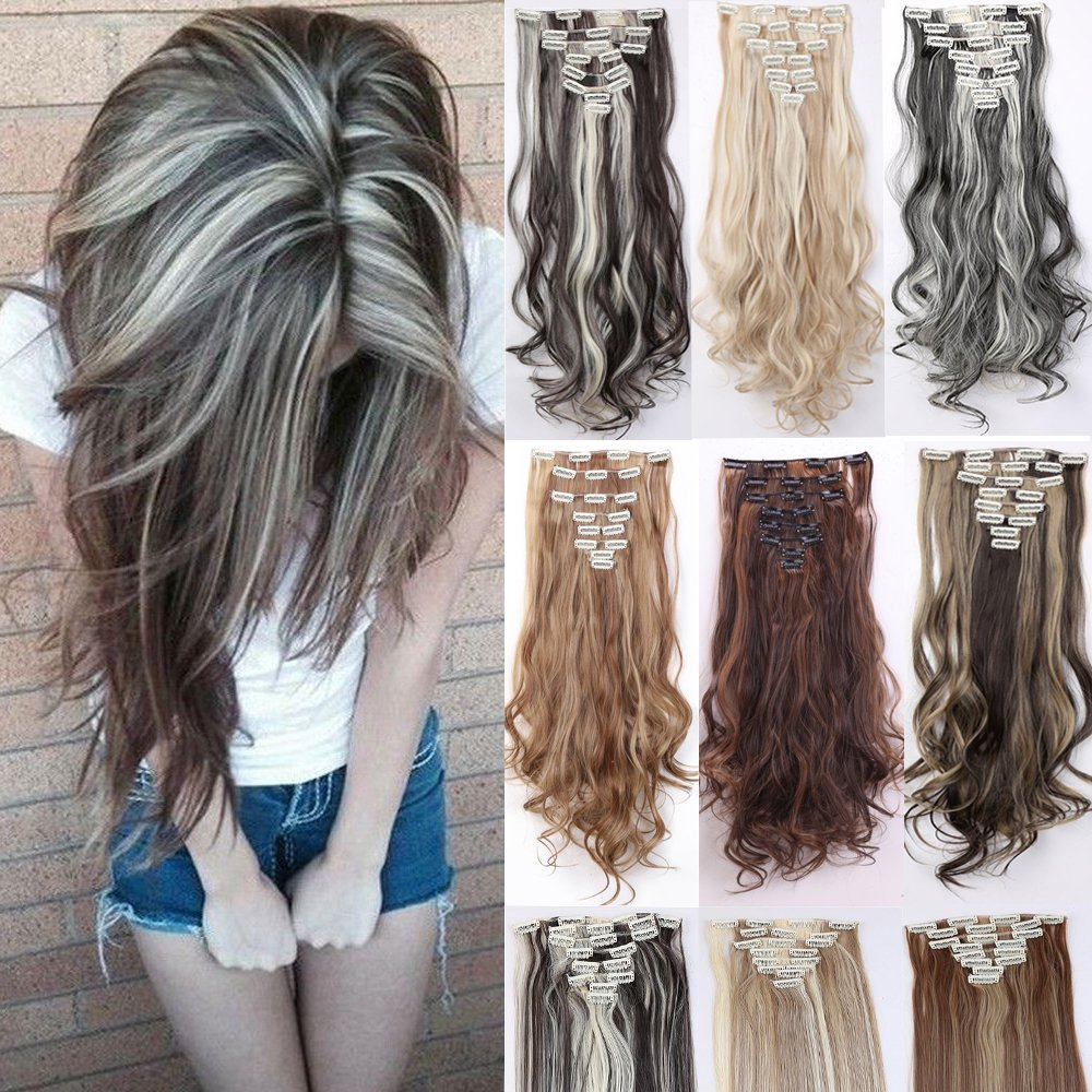 Buy 15\ Curly, Light Brown & Ash Blonde piano color  S noilite ...