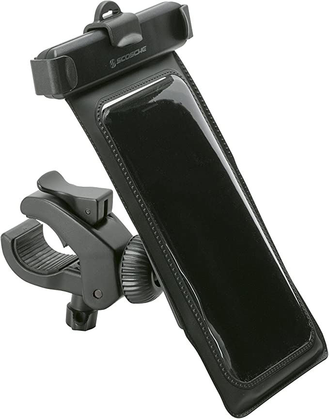 Bicycle Waterproof Phone Case Pouch Handlebar Mount Holder For Ip6 plus//Ip7//S6