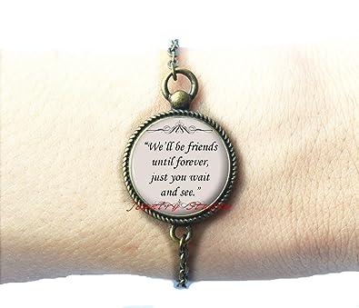 Amazon.com: Charming fashion Bracelet,Quote Bracelets   Friends