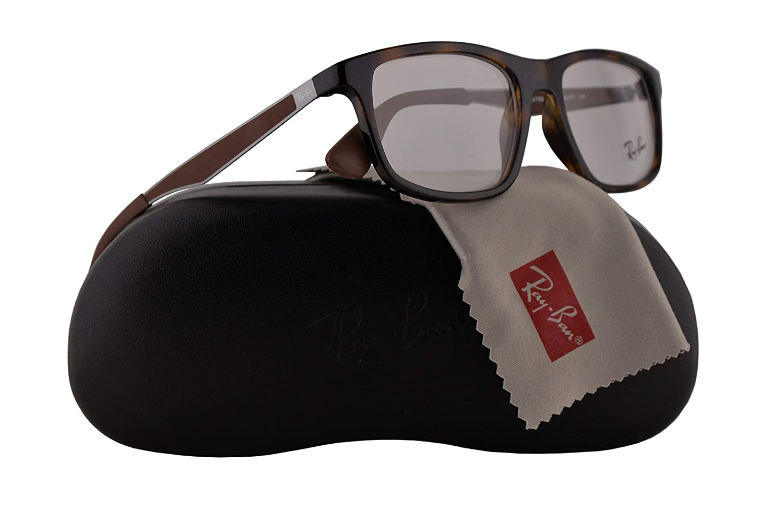 Ray-Ban RX7055 Eyeglasses 53-17-145 Shiny Havana w/Demo Clear Lenses 2012 RB7055 RB 7055 RX 7055