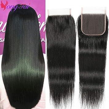 Amazon.com: Yuyongtai Extensiones de cabello humano virgen ...