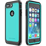iPhone 7 Plus/iPhone 8 Plus Case, ImpactStrong Ultra Protective Case with Built-in Clear Screen Protector Full Body Cover for