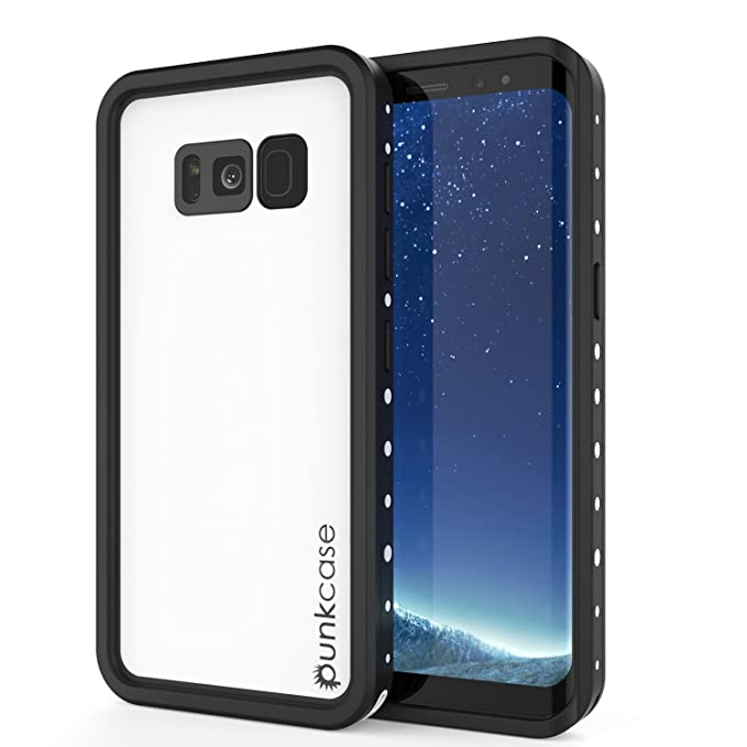 amazon com galaxy s8 plus waterproof case, punkcase [studstargalaxy s8 plus waterproof case, punkcase [studstar series] [slim fit] [ roll over image to zoom in
