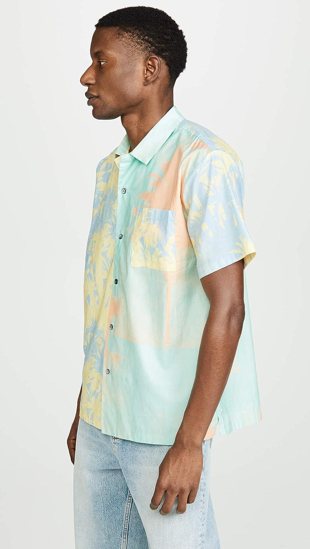 Double Rainbouu Mens Hawaiian Shirt