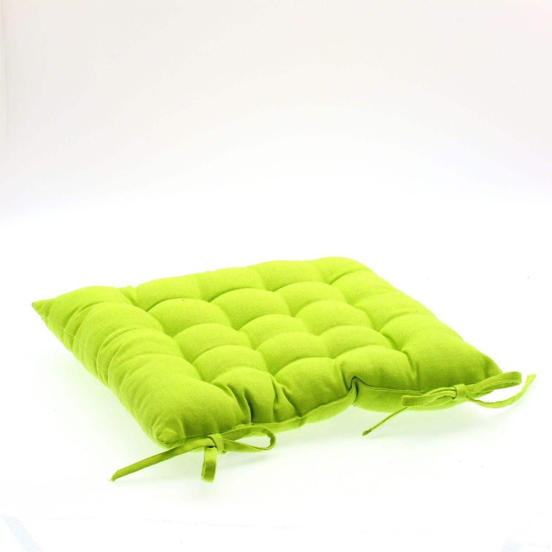 Coussin de chaise Vert anis: Amazon.fr: Cuisine & Maison