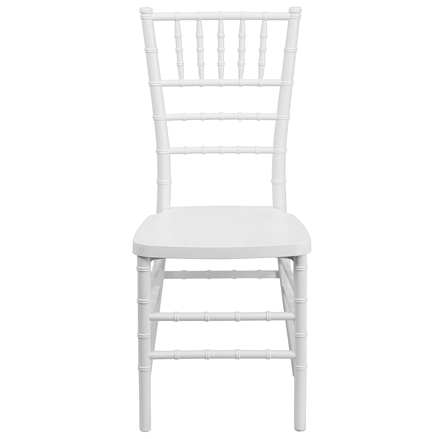 Amazon Flash Furniture HERCULES PREMIUM Series White Resin