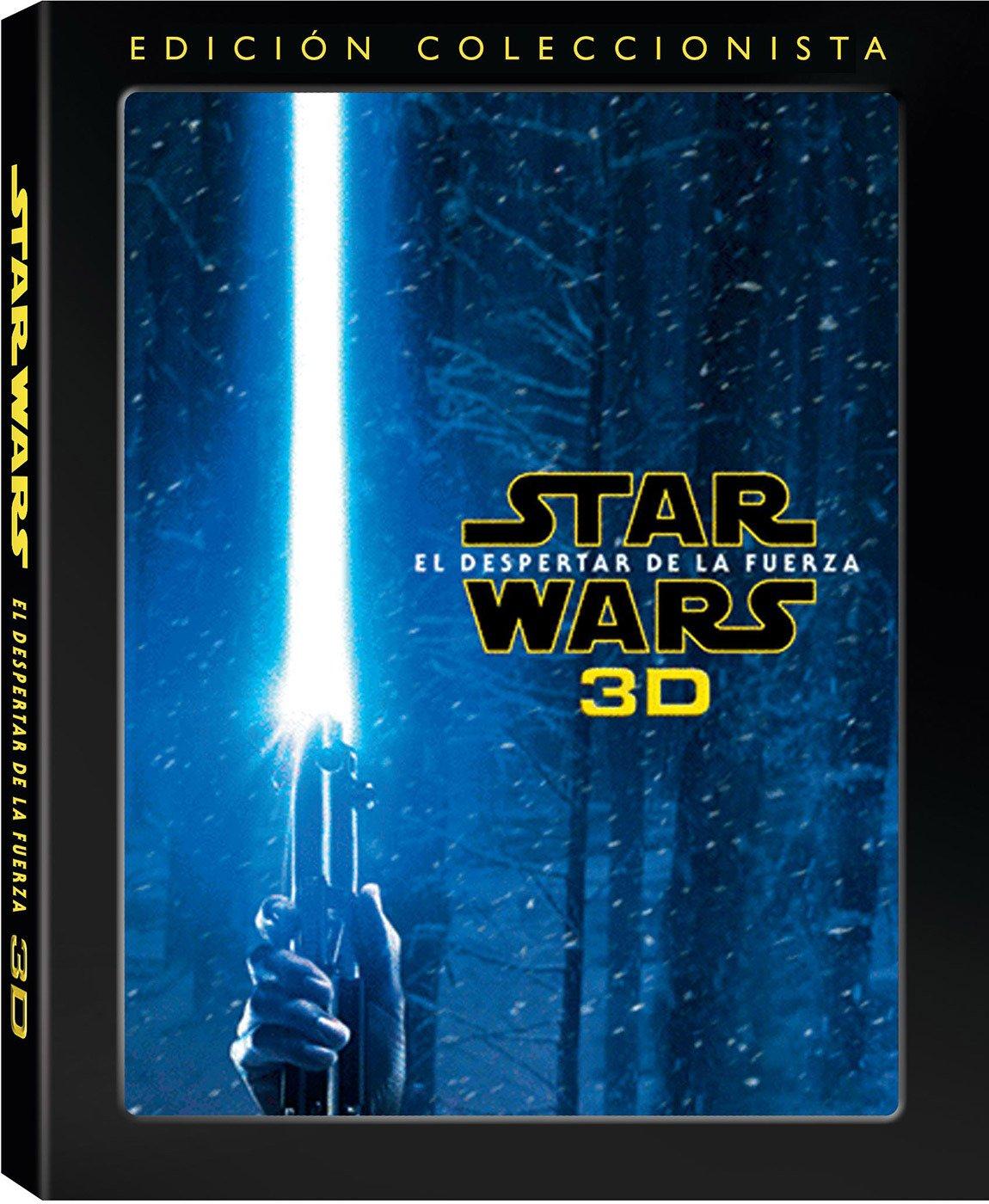 Star Wars: El Despertar De La Fuerza Blu-ray 3D Blu-ray: Amazon.es ...