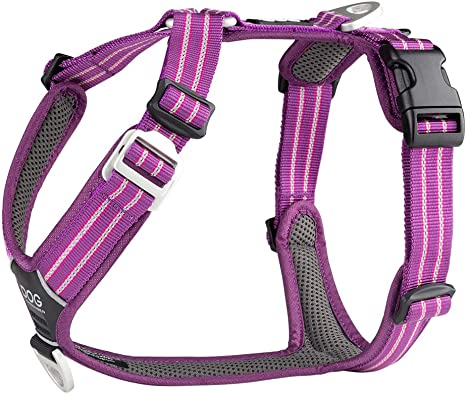 DOG Copenhagen Comfort Walk Air Harness Purple Passion WH-PP Talla ...