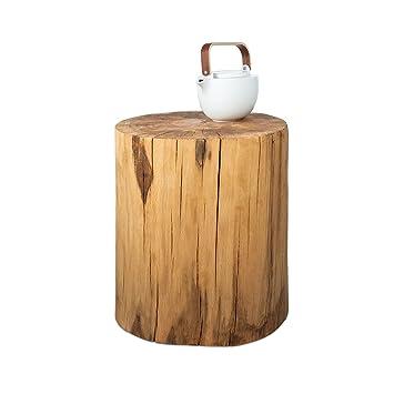 Lieblings Baumstamm Beistelltisch Buche, in Handarbeit gefertigt, natürliche @VV_79