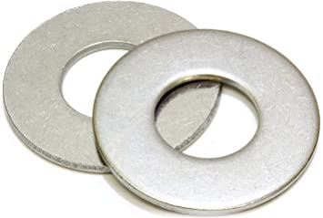 100 3//8 Stainless Steel EXTRA THICK HEAVY DUTY Flat Washers 100 pcs