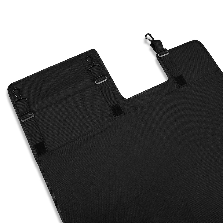 Rear Cargo Rack Cover Shield Trunk Protector Shade Shield Pad Organizer Black Oxford Cloth for Jeep Wrangler JL JLU 2018 2019 Sunluway