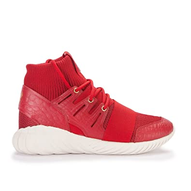 120cd4578184 adidas Tubular Doom CNY Men s Shoes Power Red Gold Metallic aq2550 (8.5 D(