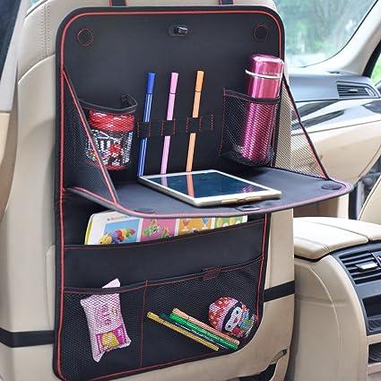 Auto Rücksitz Organizer Kinder Auto Rückenlehnenschutz Rückenlehnen Tasche Mit Spieltisch Multi Tasche Für Kinder Auto Ordentlich 1 Stück Baby