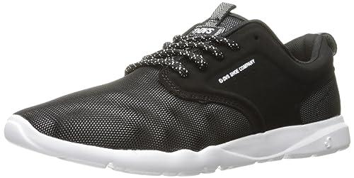Womens Premier Jacquard Wos Skateboarding Shoe, Black/Grey Jacquard, 6.5 M US DVS