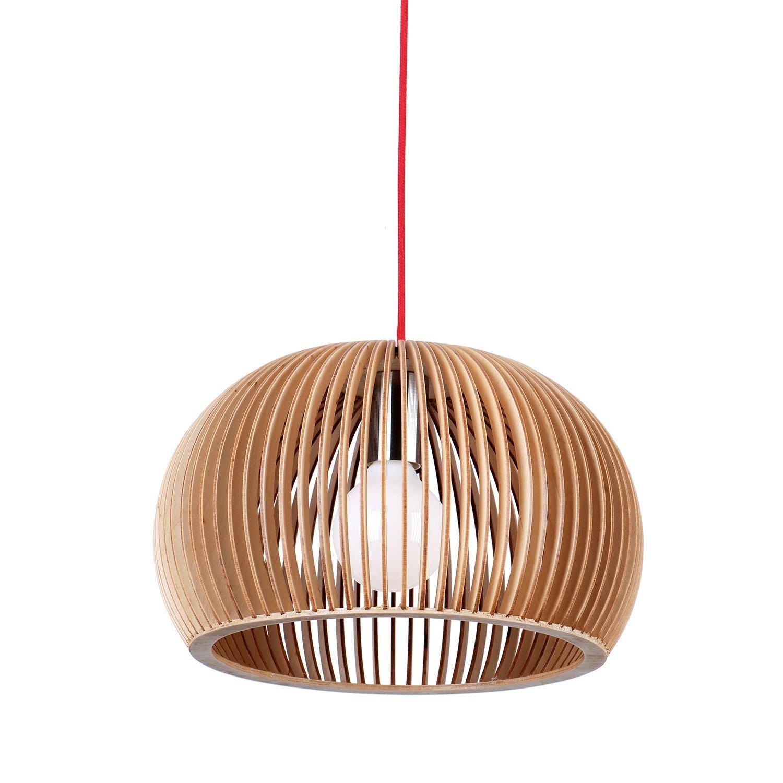 Lámpara colgante Circum Plywood Superstudio, diseño minimalista