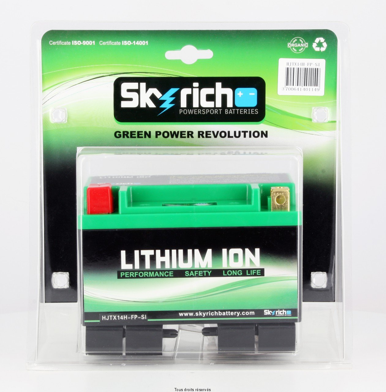 chargeur batterie moto lithium ion skyrich. Black Bedroom Furniture Sets. Home Design Ideas