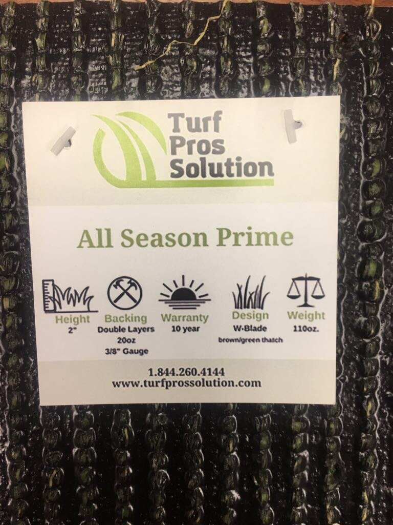 All Season Prime Synthetic Grass - Artificial Turf - Drainage Holes, 2'' blades Great for Sunny Climates (10' x 15') by Turf Pros Solution (Image #3)