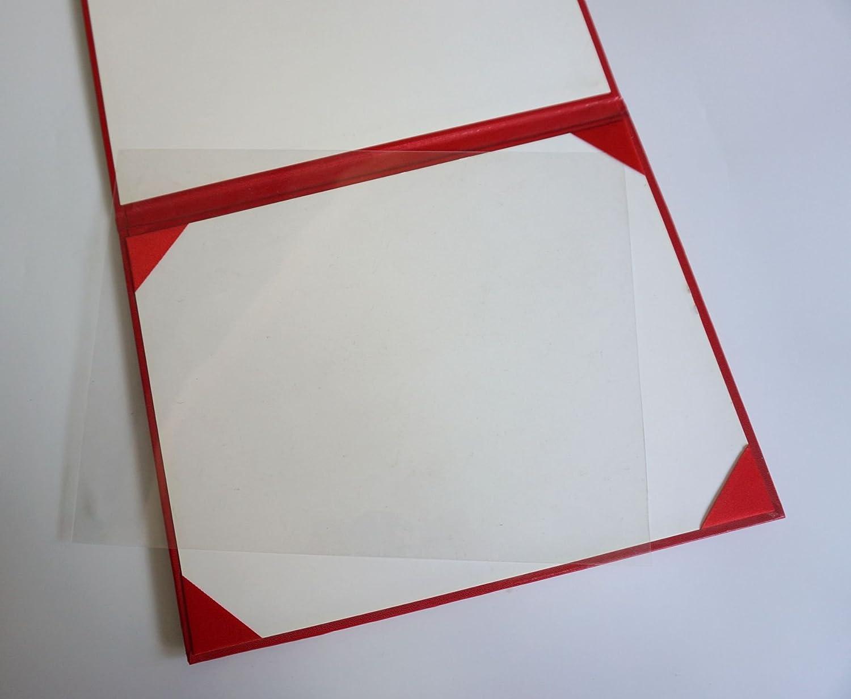 Black Certificate Cover ImprintedDiploma of Graduation Smooth Diploma Cover 8.5 x 11 Grad Days