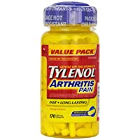 Tylenol Arthritis Pain - 170 caplets 650 mg {Imported from Canada}
