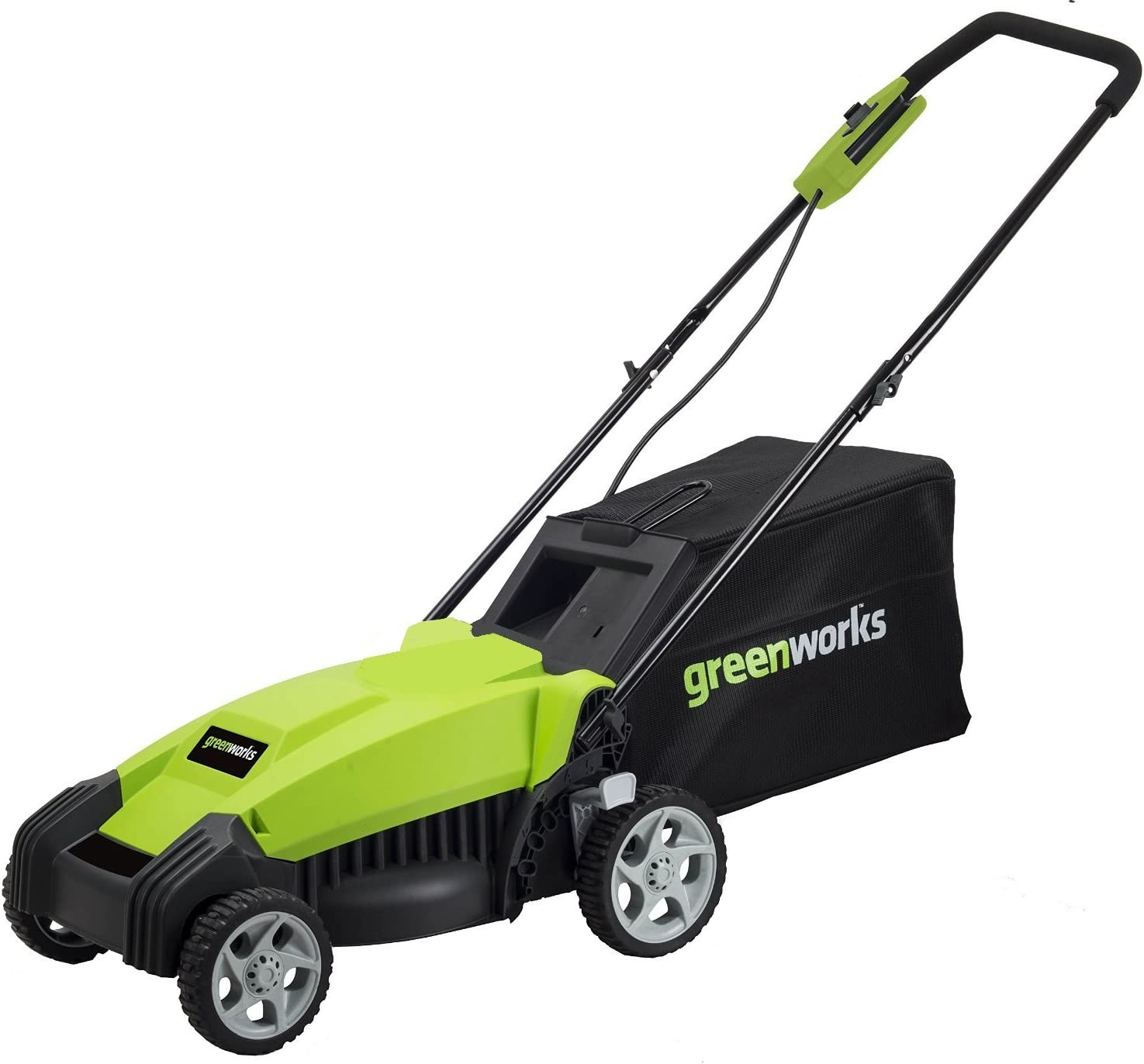 Greenworks MO14B00 Corded Electric Lawn Mower