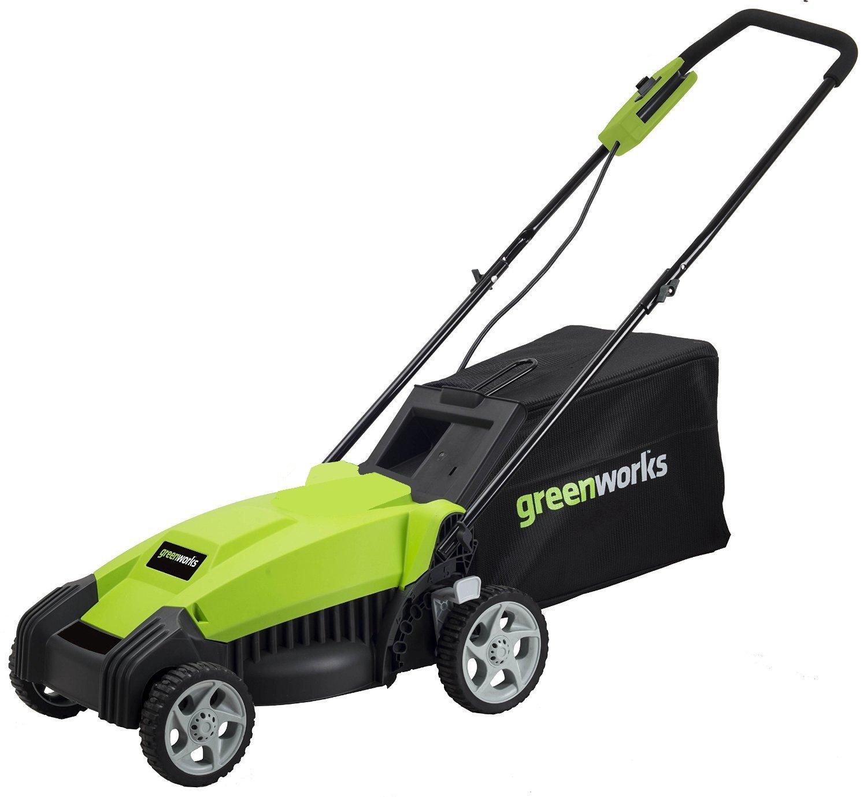 Lawn mower tractor walk behind lawn mowers riding lawn mowers greenworks 14 inch 9 amp corded lawn mower mo14b00 fandeluxe Gallery