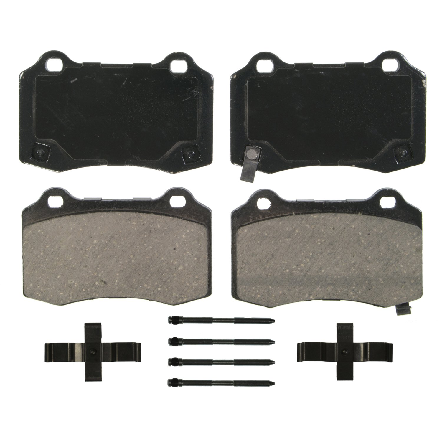 Wagner QuickStop ZD1391 Ceramic Disc Pad Set Rear