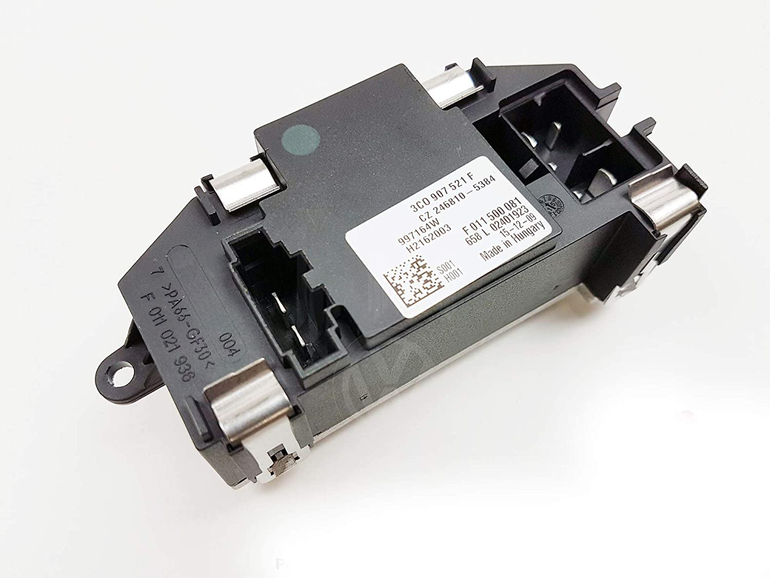 2004-2011 New A//C Air Conditioning Heater Blower Fan Resistor Speed Controller 3C0907521F
