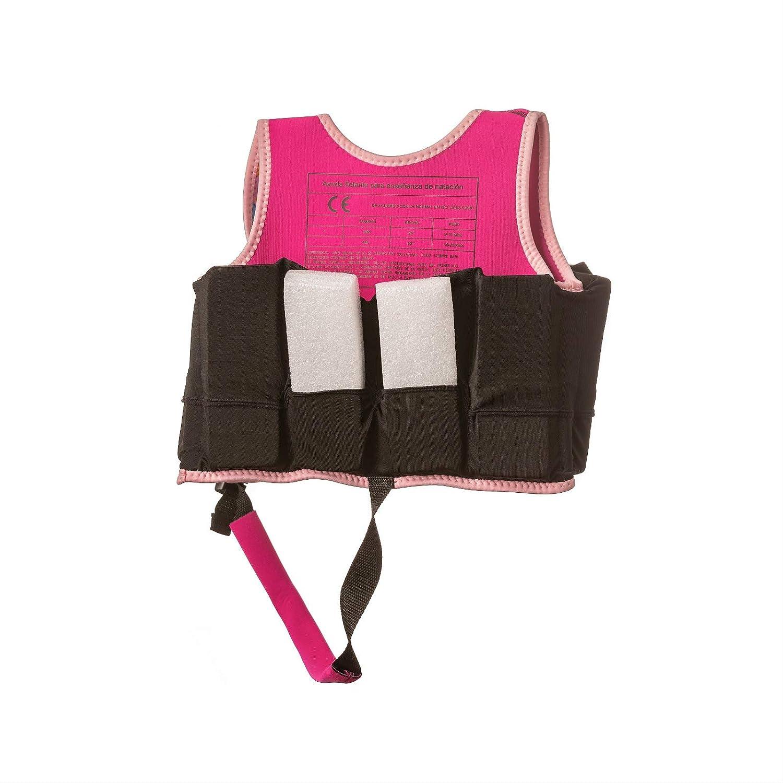 MUNDO PETIT -Chaleco de Ayuda a la flotabilidad Aprendizaje de la natación, Ideal para peques de 9 a 18 kg (Famencos): Amazon.es: Juguetes y juegos