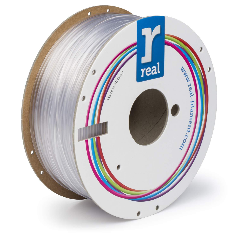 bobina da 1 kg 1,75 mm neutro Real Filament 8719128327198 Real PETG