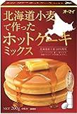 オーマイ 北海道小麦で作ったホットケーキミックス 200g×4個