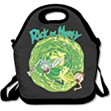 Rick And Morty Funny Cartoon Lunch Box Bag For Kids And Adult,lunch Tote Lunch Holder With Adjustable Strap For Men Women Boys Girls,This Design For Portable, Oblique Cross,double Shoulder