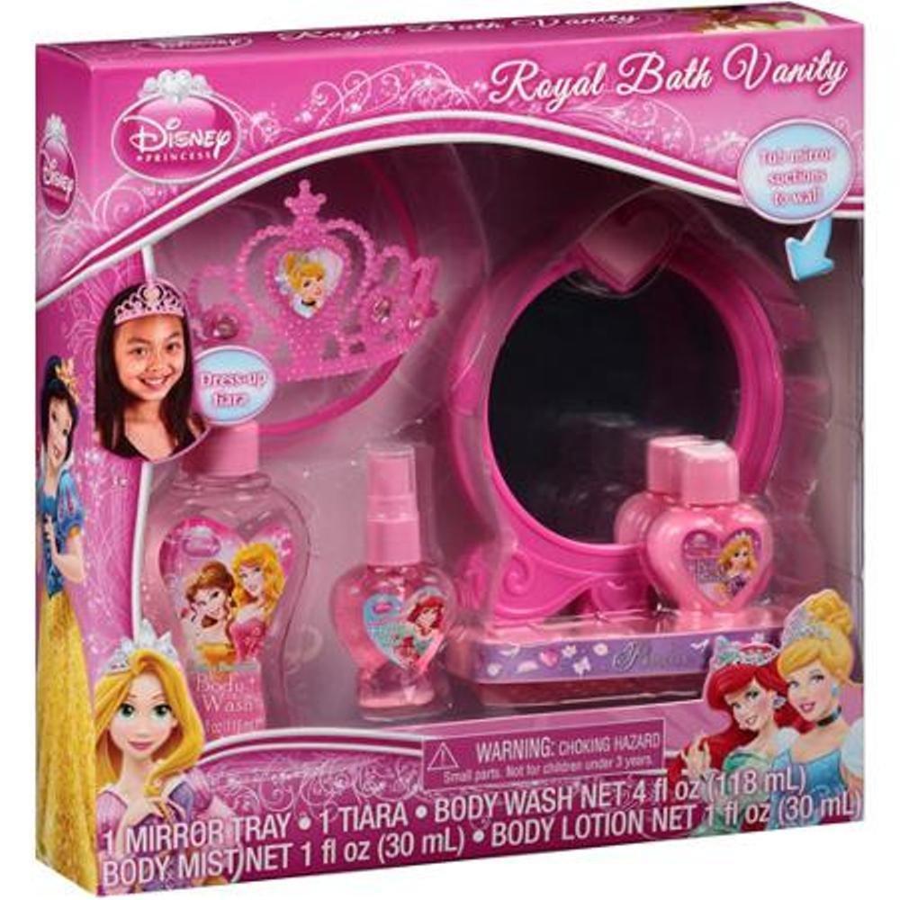 Amazon.com: Disney Princess Royal Bath Vanity Gift Set, 5 Pc: Toys U0026 Games