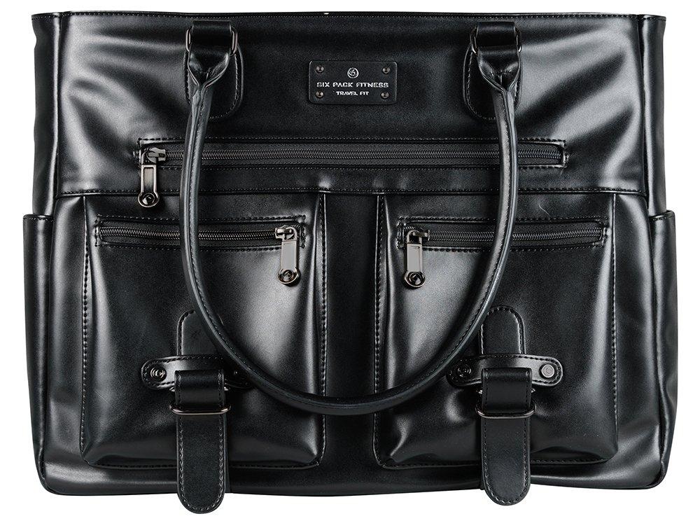 6 Pack Fitness Bag Meal Management Renee Tote 400 - Black (Schwarz)