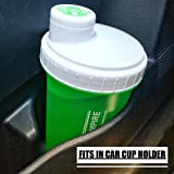 Lifting Empire 28 oz Protein Shaker Bottle