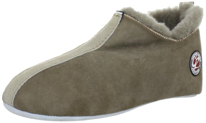 Shepherd HENRIK 620-5236 - Zapatillas de casa para hombre 44 EU|Beige
