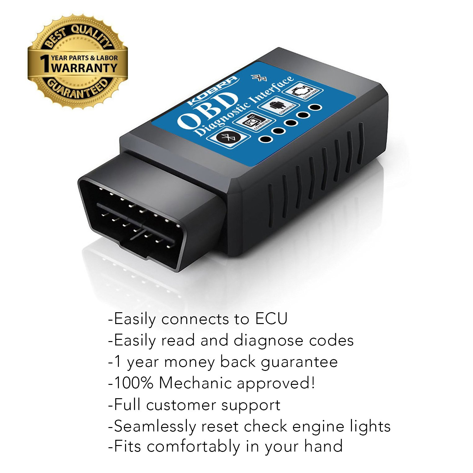 Kobra WiFi OBD Scan Tool OBD Scanner (Android Devices Only) by KOBRA Products (Image #5)