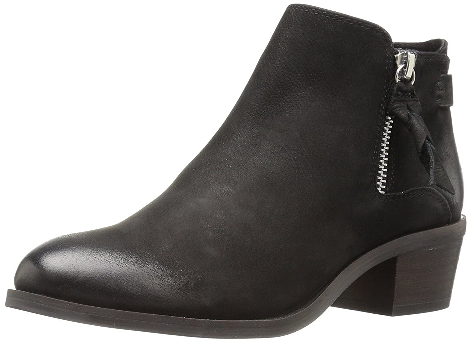 Women's Kyle Ankle Bootie Black Nubuck 5.5 M US