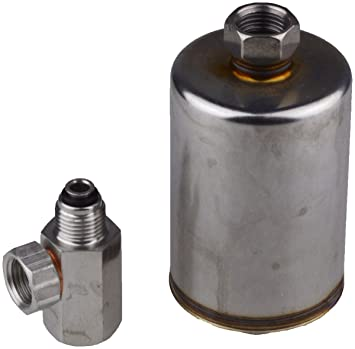 Luber-finer WHG481FK Adaptor kit to convert Workhorse trucks with G2996,  fuel filter to use G481