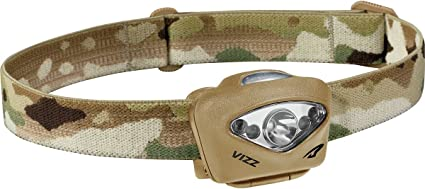 One Size Princeton Tec Vizz 420 Headlamp Multicam