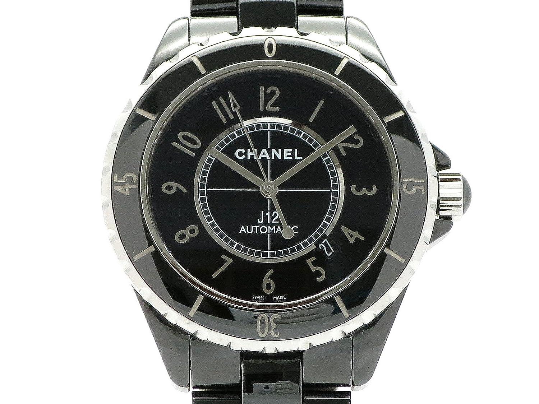 (シャネル) CHANEL 腕時計 J12 42ミリ オートマチック H2980 セラミック 中古 B07DFD6TKR