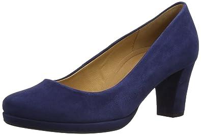 387ff0bc3de Gabor Ella S, Women's Court Shoes, Dark Blue Suede, 5 UK
