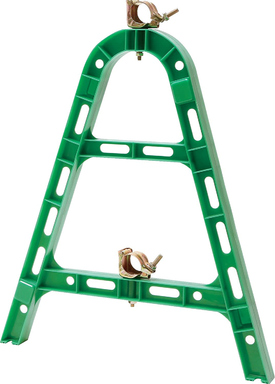 単管バリケード 樹脂製 MAスタンド 緑 20枚セット B07DGH63BK