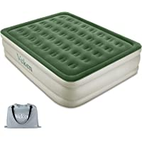 Veken Queen Air Mattress w/Built-in Pump 18-nch Airbed