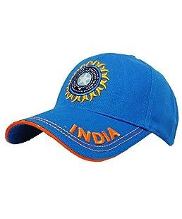 Huntsman Era Baseball India Cricket caps for Men (Light Blue)