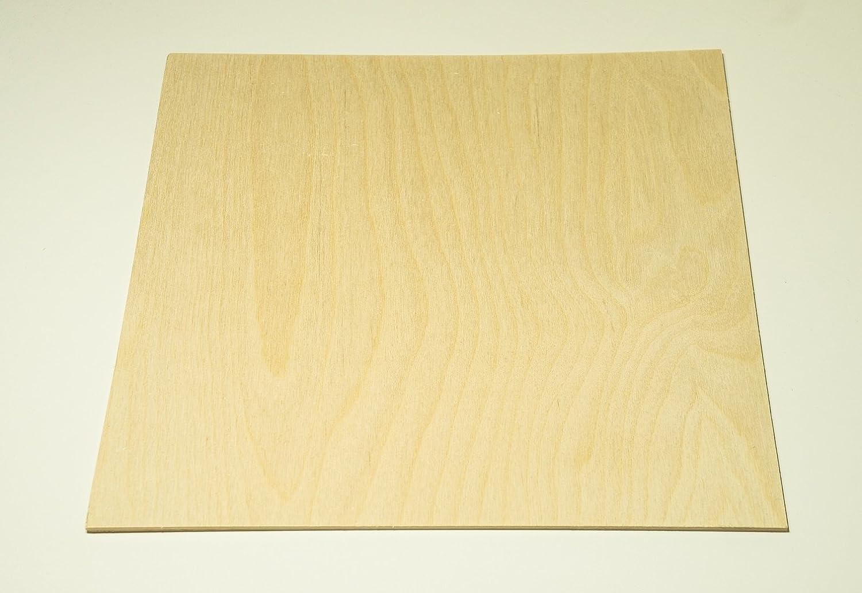 3MM 1/8 x 12 x 12 Baltic Birch Plywood – B/BB Grade (Package